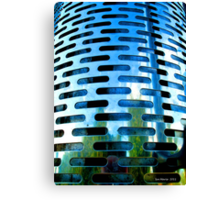 Grated and Graduated... Canvas Print