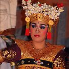 Bali dancer by Cathie Brooker