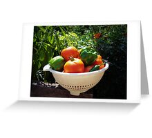Garden Goodies Greeting Card