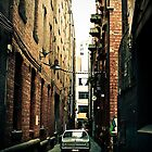 HD holden in laneway by Nathan Shoemark