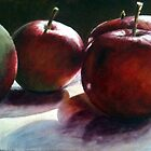 Early Summer Apples by Trevor Osborne
