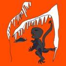 Ice-cave Dinosaur by Leonie Mac Lean