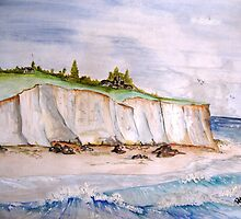 Crumbling Cliffs.. by buddybetsy