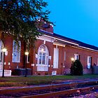 Morning Twilight South Georgia Train Depot by BenSellars