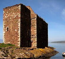 Portencross Castle by RSMphotography