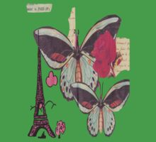 Paris Tee Kids Clothes