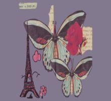 Paris Tee by Bec Schopen