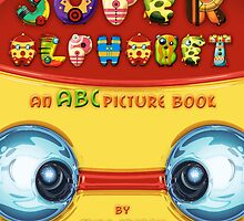 Super Alphabet Book Cover by Mike Cressy