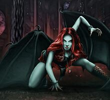 Woman of the Shadow by rinthcog