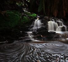 38 Acre Falls  by Garth Smith