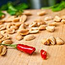 Spicy Peanuts still-life by RecipeTaster