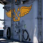 Aboard the USS Abraham Lincoln by Cynde143