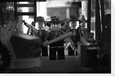 Lego Mobster by Kevin  Poulton - aka 'Sad Old Biker'