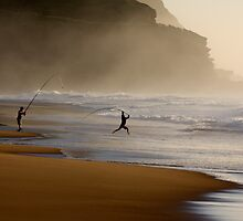 Dance of the fisherman by National Park Photography