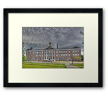 Cortland County Office Building - Cortland, NY Framed Print