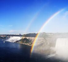 Double Niagara Rainbow by Alyce Taylor
