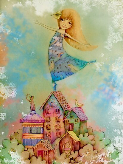 dancing on rooftops by Karin  Taylor
