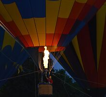 Hot Air Balloons (Nighttime) by IngramImagery