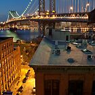 Manhattan Bridge  by Peter Kruger