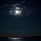 The Moon Over Toronto Island by Gary Chapple
