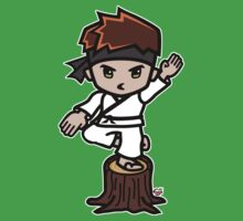 Martial Arts/Karate Boy - Crane one-legged stance by fujiapple