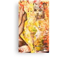 mapped doll Canvas Print