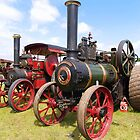 Garrett Traction Engines by Mike Streeter