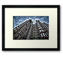 The Inside-Out Building aka Lloyds HQ Framed Print