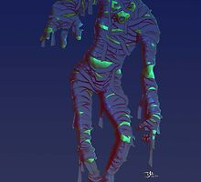 neon mummy by crashmat