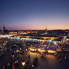 Djemaa El-Fna by Conor MacNeill