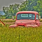 Rusty Cab by Sheryl Gerhard
