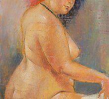 Nude by Guennadi Kalinine
