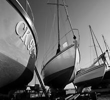 Boatyard by Steve Woods