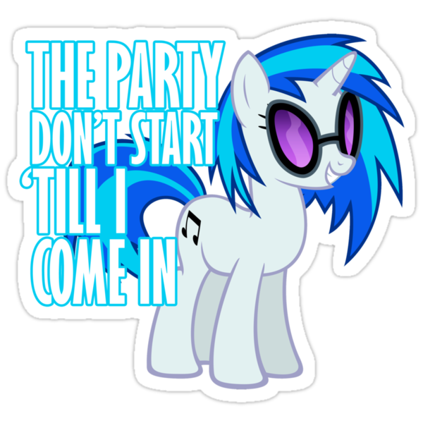 Vinyl Scratch - I Start the Party by Strangetalk