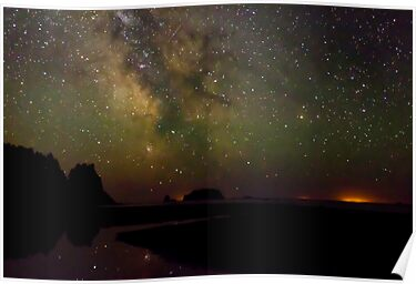 Milky Way from Olympic Coast by BobbiFox