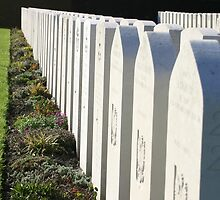 RAF War graves in Dunkerque, France by James Ward