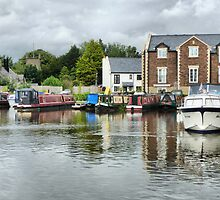 Garstang Basin. by Lilian Marshall
