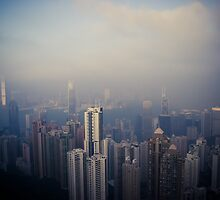 Hong Kong - from The Peak by cyasick