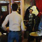 two Paris waiters....confrontation by banrai