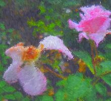 Roses. Painting. by Vitta