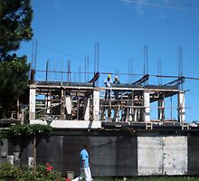 Construction, Fiji by J Forsyth