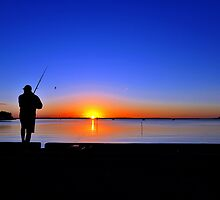 Carlo Point, Rainbow Beach at sunset. Queensland, Australia. (5) by Ralph de Zilva