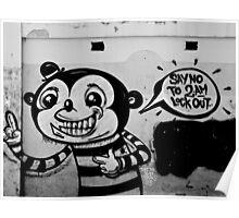 A Lost Message - Graffiti Poster