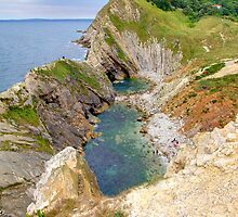 Stair Hole - Lulworth by Colin J Williams Photography
