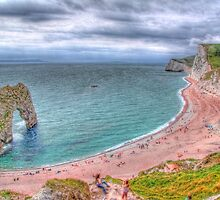 Smile - It`s Durdle Door - HDR by Colin J Williams Photography