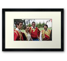 Outlaws and Coves Framed Print