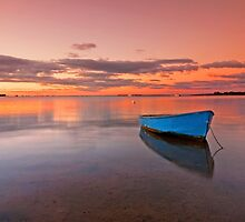 Tranquil Twilight - Victoria Point Qld Australia - by Beth  Wode