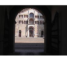 IL DUOMO DI PARMA...ITALY... Europa-- 2000 visualizzaz agosto 2013 -VETRINA RB EXPLORE 26 DICEMBRE 2012 -- Photographic Print