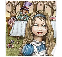Alice and the mad tea party Poster