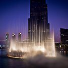 The Dubai Fountain by Chris Cardwell